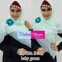 Terbaru Hijab Jilbab Kerudung Scarf Segi Empat Polos Free Bros Bunga