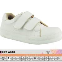 Sepatu Casual Wanita Cewek Sepatu Kets Tanpa Tali Warna Putih 014 RZ