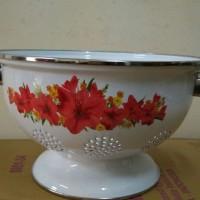 IDEAL Rice Bowl (Tempat/Wakul Nasi) Enamel 22 cm CALLISTA