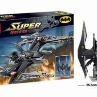 Jual Brick Block DECOOL 7112 Bat Fighter Batman Tumbler Pesawat v LEGO 7782 Murah