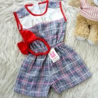 Jumpsuit grid zara baby baju bayi anak