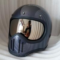 Inner visor mika helm cakil bogo m50 m 50 iner kaca dalam moto4 chrome