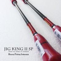 JIG KING II  PE 2-4 SP Joran Pancing BOSSNA