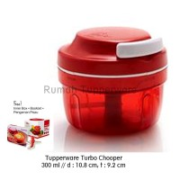 Tupperware Turbo Chopper (Promo) Pencacah Manual