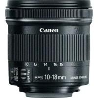 Lensa canon EFS 10-18mm