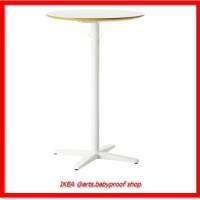 IKEA BILLSTA - Meja bar bulat. Putih Uk. 70 cm
