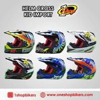 Helm balap motor cross anak free kacamata goggle not kyt nhk fox thor