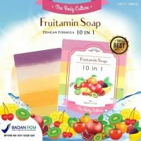 Jual THE BODY CULTURE Fruitamin Soap/ Sabun Pemutih Badan Dan Wajah Buah Murah