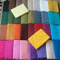 Jual kain batik embos colourfull Murah