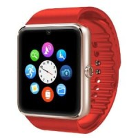 Cognos Smartwatch GT08 - Emas/Merah Smart Watch New Update