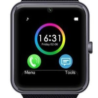 Cognos Onix Smartwatch GT08 - Black Smart Watch Barokah