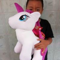 Boneka Kuda Pony Lucu Ukuran 50cm - Boneka Unicorn Lucu Murah 2474dc80bc