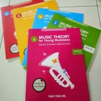 Paket Buku Music Theory for Young Musician Grade 1-5