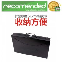 Alat Panggang Arang BBQ Grill Stove Foldable - Hitam