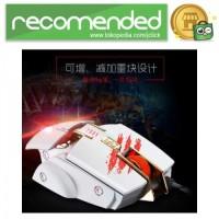 RAJFOO Gaming Mouse Laser - Model 2 - Putih