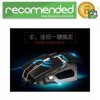 RAJFOO Gaming Mouse Laser - Model 2 - Hitam