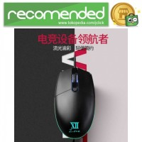 Remax Gaming Mouse 5000 DPI - XII-V3500 - Hitam