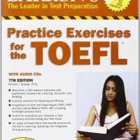 Buku Barron Practice Exercises for the TOEFL with CD 7th Edition