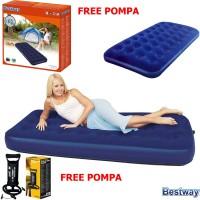 Kasur Angin Single Bed Bestway 67000 Free pompa / Paket Kasur Angin