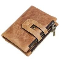 Dompet Pria MURAH ORIGINAL RFID Blocker - BROWN