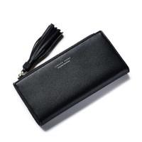 Dompet Wanita Clutch Long Zipper Coin Wallet