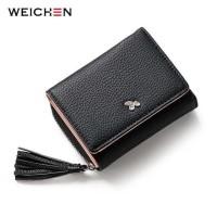 Dompet Wanita Clutch Zipper Coin Wallet - hitam