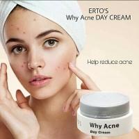 ERTOS Why Acne Day Cream - Krim Pagi Siang Jerawat - ERTO'S Skincare