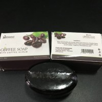 HANASUI COFFEE SOAP WITH COFFEE SCRUB ORIGINAL - SABUN KOPI HANASUI