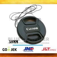 Lens Cap | Tutup Lensa Canon 58 mm | LENSCAP CANON 58