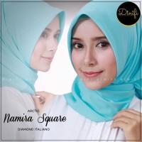NAMIRA Square Size M by DINIFI | Jilbab Segi Empat | Diamond Italiano