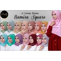 NAMIRA Square Size L by DINIFI | Jilbab Segi Empat | Diamond Italiano