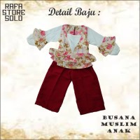Setelan Baju Anak Perempuan Import Lucu Unik Branded VIA 0030