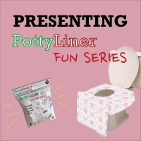 Potty Liner Disposable Toilet Seat Covers - FUN SERIES
