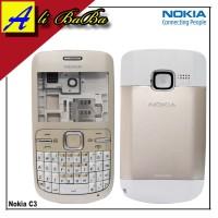 Housing Fullset Handphone Nokia C3 C3-00 Kesing Fullset Nokia C3 C3-00
