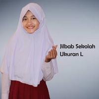 Jilbab Instan Sekolah size L