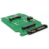 Termurah mSATA SSD to SATA 22 Pin Adapter Card