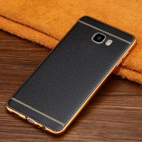 CASE SAMSUNG GALAXY C5 / C5 PRO PREMIUM LEATHER LUXURY BACK COVER