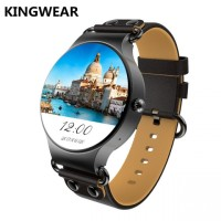 KINGWEAR KW98 3G Android 5.1 Smartwatch Phone Black