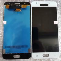LCD 1SET SAMSUNG G570 GALAXY J5 PRIME ORIGINAL WHITE BISA KONTRAS