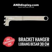 DAUN BRACKET HANGER PIPA BULAT 30 CM BRAKET LUBANG BESAR