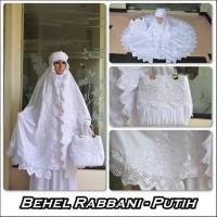 MUKENA MURAH ML11 Mukena Behel Rabbani BUSANA MUSLIM WANITA MURAH