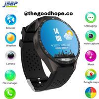 Jam Tangan Smartwatch Kw88 / Kingwear 88 Black