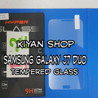 SAMSUNG GALAXY J7 DUO ANTI GORES TEMPERED GLASS SCREEN GUARD