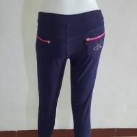 Celana Legging CK Wanita Panjang Stretch Motif Jeans Bahan Tebal