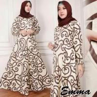 Baju Gamis Syari Bahan Katun Baju Muslim Wanita