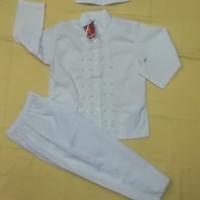 TERMURAH Baju Muslim |Baju Koko Anak Laki laki 6 Tahun Warna Putih
