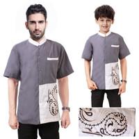 Couple Baju Koko Bapak dan Anak muslim