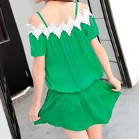baju sabrina blouse korea tangan bolong buntung pakaian korea import