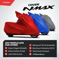 COVER/ SARUNG MOTOR YAMAHA NMAX MERAH COVER SUPER MURAH BERKUALITAS
