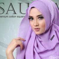 Jilbab Segi Empat Saudia Katun Polos Rawis SSDP (Kerudung Cotton Murah